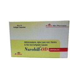 Methycobalamin Folic Acid Soft Gelatin Capsules