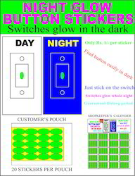 Night Glow Buttons