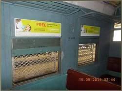 Mumbai Inside Local Train Advertisement