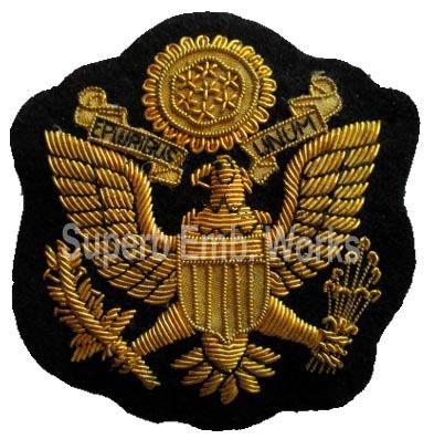 Hand Embroidered Military Badges - Military Badges Exporter