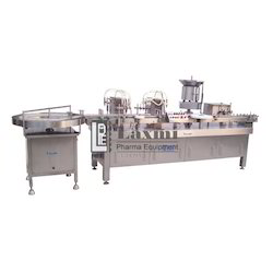 Automatic Four Head Vial Filling Stoppering Machine