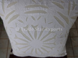 Hand Applique Work Cushions Cover