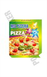 Customized Corrugated Pizza Packaging Box