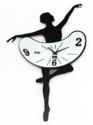 Lady Metal Wall Clock