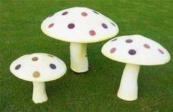 FRP Mushroom Statue