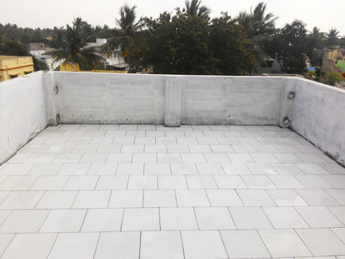 Ceramic White Weather Proof Tiles Thickness 12 14 Mm