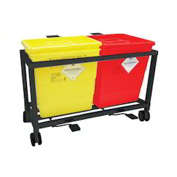 Mild Steel Waste Segregation Trolleys