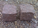 Magdi Red Granite Cobbles