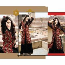 Georgette Black Designer Salwar Suits