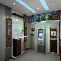 ATM/BANK Interior Designing, Area / Size: 100sqft
