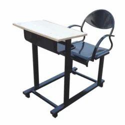 Black & Brown Maruthi Enterprises College Study Desk