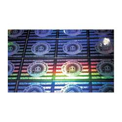 Self Adhesive Tamper Evident Holographic Labels