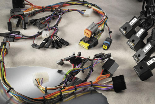 electronic wiring harness wiring harness rajashree international rh indiamart com electrical wiring harness assembly companys electric wiring harness 74 vette