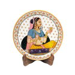 Gorgeous Princess Marble Plates