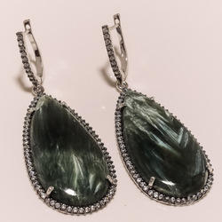Sarphenite C Z Earrings