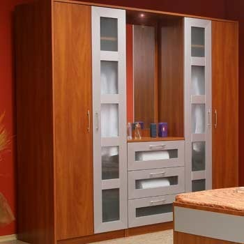 Wooden Furniture Wardrobe Dressing Table Manufacturer