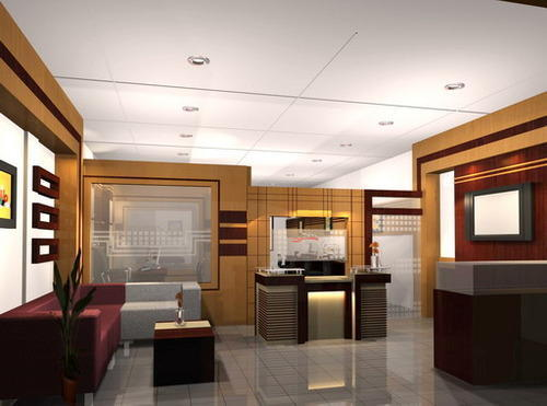 Office Interior Decoration Service in Ghatlodia, Ahmedabad, Brown ...