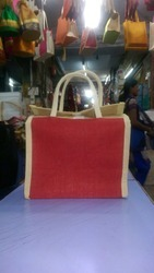 Red Color Lunch Bag