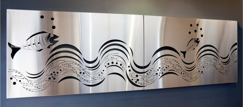 Steel Wall Art stainless steel wall art & front elevation manufacturer from new delhi