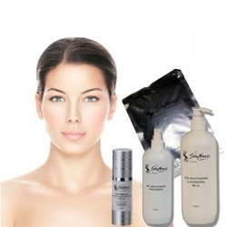 how to use facial kit