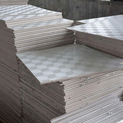 Pvc Laminated Gypsum Ceiling Tiles Polyvinyl Chloride