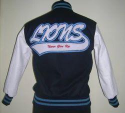 Custom Designed Navy Varsity Jacket