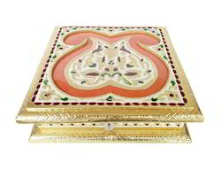 Jayant Double Mango Flower Designed Decorative Box