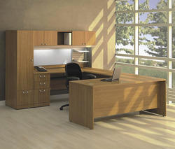 ABS Furnishing Wooden Office Table, Size: 72x36x30 Inch