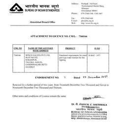 BIS Certificate 3