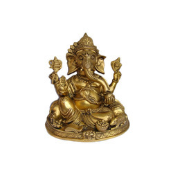 Brass Ganesh Decorative Statue