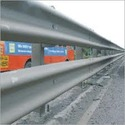 Single Sided Single Thrie Beam Barriers