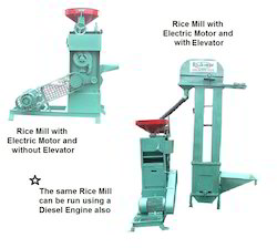 Lab Scale Mini Rice Mill