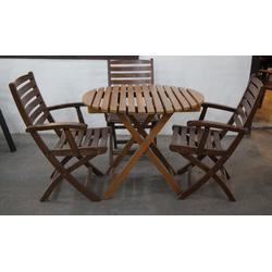 rubber wooden garden set - Garden Furniture Delhi