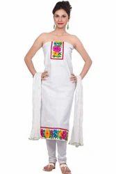 White Ladies Designer Dress