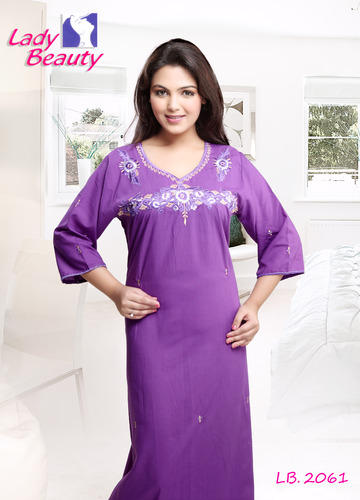 fce740dc46 ... Ladies Night Dress. Full Length Nighty