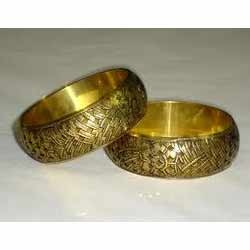Golden Color Brass Bangles