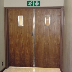 Fire Rated Wooden Door | Qualt Fire Controls Private Limited ...