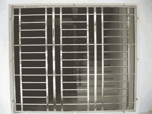 Ss Window Grill At Rs 600 Square Feet Stainless Steel Window