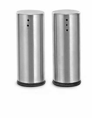 Stainless Steel Round Salt Pepper Shaker Pepper Bottle Pepper