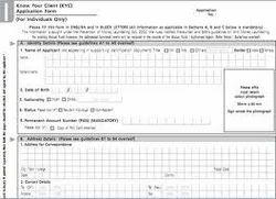 KYC Form Filling Process