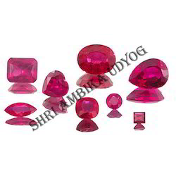 Ruby Mixed Shape Cut