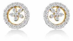 Affordable Diamond Earrings 14k Gold
