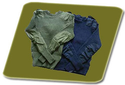 Woolen Military Pullover