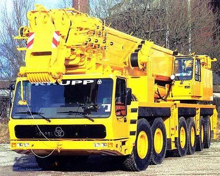 Krupp KMK-6160 (160 Ton) | SKV Construction Cranes & Equipment