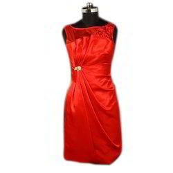 Party Wear Red Dress