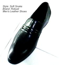 Snake and Softy Leather Shoes