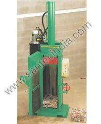 10 feet UBC (Used Beverage Containers) / Aluminum or Steel Can Baler, Capacity: 30-40 ton