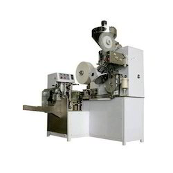 Semi-Automatic Tea Bag Packing Machine with Box Counter, Output: 105+/- 5 bag/min