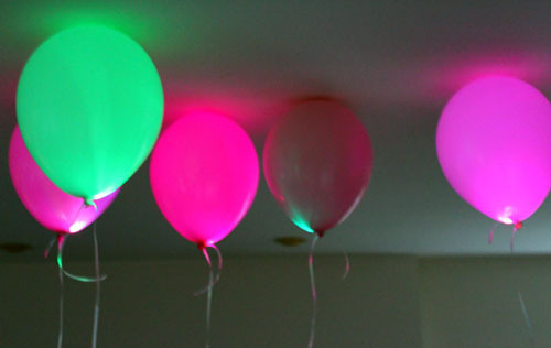 balloons with colors pack up white inch large products light led flashing of