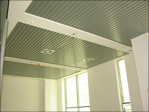 Steel Stainless Steel And Aluminum 84 C Ceiling Panel Rs 75